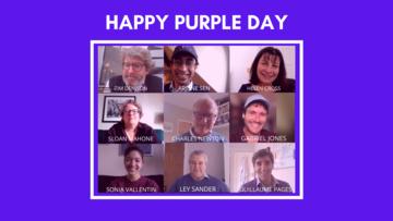 Purple Day Team Photo